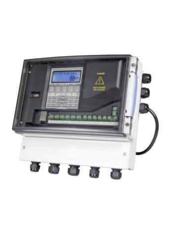 Система очистки воды: системный контроллер Clack, устанавливают для управления несколькими фильтрами.