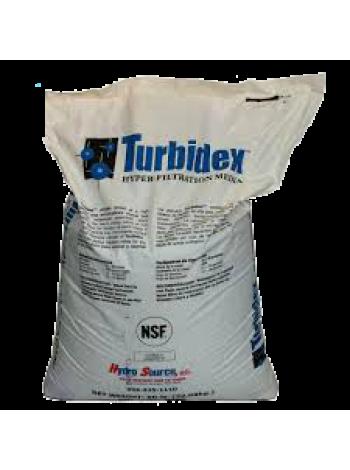 Хімічний аналіз води: очищення води, що фільтрує засипанням TURBIDEX очистить від суспензій