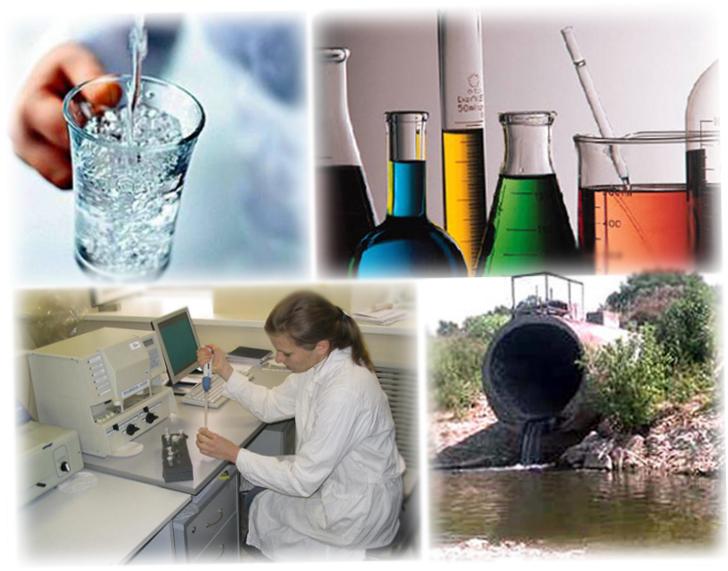 Анализ воды, загрязненная вода