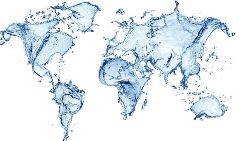 Карта з чистої води.